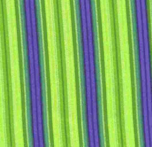 Green Purple ticking stripe G060213
