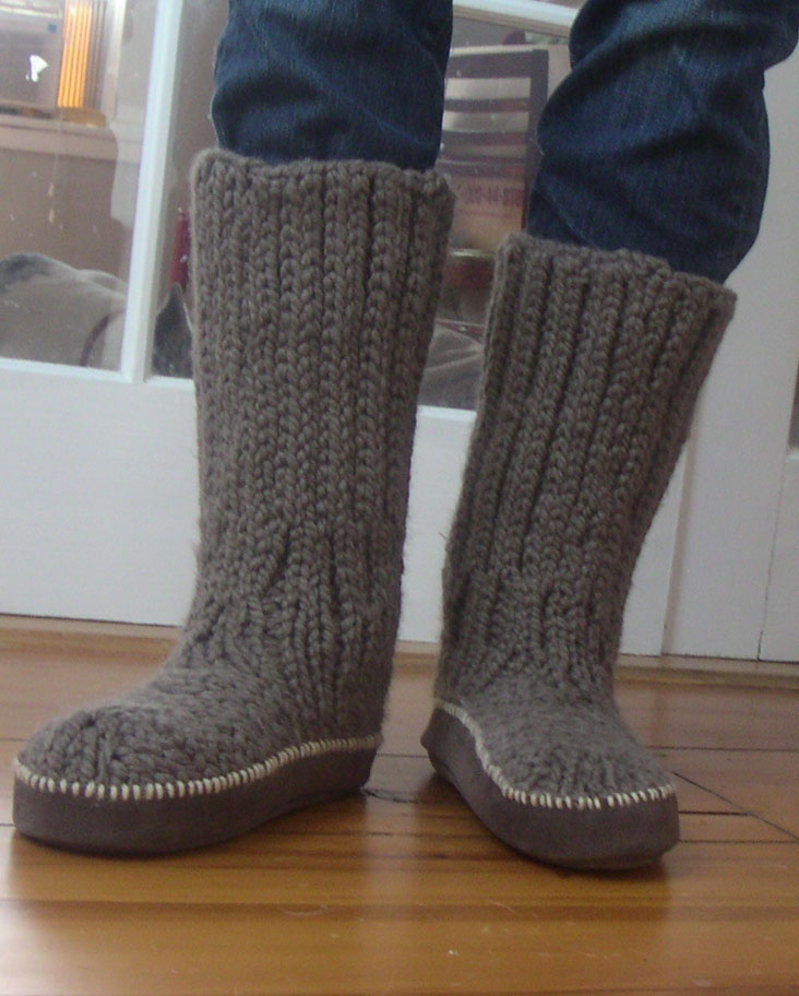 Knit Boots Pattern : Let s go knitting Limoncello