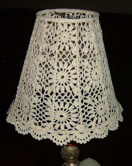 Free Pattern Crochet Lampshade : Lampshade Limoncello
